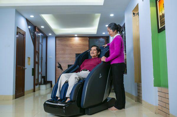 Ghế massage Azaki X750 sử dụng chất liệu PU cao cấp