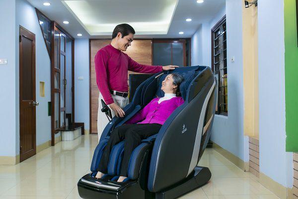 Ghế massage X750 giải phóng cơ thể kéo giãn cột sống